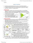 EC120 Lecture Notes - Pareto Efficiency, Economic Surplus, Marginal Utility