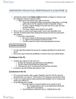 RSM220H1 Chapter Notes - Chapter 4: Cash Flow Statement, Retained Earnings, Earnings Management