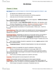 BIOL 1000 Chapter Notes - Chapter 2: Cell Membrane, Chromosome Segregation, Plants And Animals