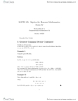 MATH135 Study Guide - Midterm Guide: Extended Euclidean Algorithm, Euclidean Algorithm, Divisor