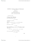 MATH135 Lecture Notes - Chinese Remainder Theorem, Prime Number