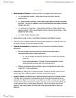 PSYC 2030 Lecture Notes - David Buss, Behaviorism, Observational Techniques