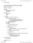 POLSCI 2J03 Lecture Notes - Consumerism