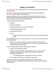 PSYC32H3 Chapter Notes - Chapter 1: Clinical Neuropsychology, Neuropsychological Test, Neuropsychology