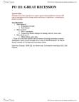CAS PO 111 Study Guide - Midterm Guide: Toxic Asset, Market Failure, Evaporation