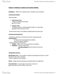 ENGB03H3 Chapter Notes - Chapter 9: Psychometrics