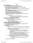 BIO SCI 93 Chapter Notes -Starch, Restriction Site, Somatic Cell Nuclear Transfer