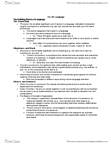 PSY BEH 9 Chapter Notes -6 Years, Soup Spoon, Aphasia