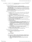 CSB345H1 Study Guide - Midterm Guide: Null Hypothesis, Standard Deviation