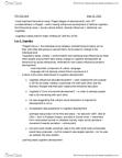 BIO342H5 Lecture Notes - Margaret Mead, Lev Vygotsky, Donald O. Hebb