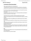 CMN 3105 Chapter Notes -Ethnocentrism, Communitarianism