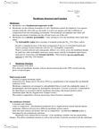 BIOL 1010 Lecture Notes - Osmoregulation, Pseudopodia, Phagocytosis