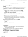 BIOL 1010 Lecture Notes - Lysozyme, Lysosome, Turnover Number