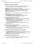 CAS BI 108 Chapter Notes - Chapter 3: Glucosamine, Amphiphile, Arginine
