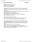 Economics 1021A Chapter 1