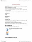 MSE101H1 Chapter Notes -Polystyrene, Zinc Sulfide, Stereoisomerism