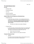 POL 2101 Lecture Notes - Lecture 8: Individual Ministerial Responsibility, Westminster System, Responsible Government
