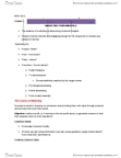 Management and Organizational Studies 1021A/B Chapter Notes -Customer Relationship Management, Pizza Hut, Target Market