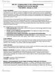 CAS CS 101 Study Guide - Triple Bottom Line, Sproxil, Stakeholder Theory