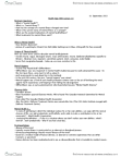 BIOLOGY 1A03 Study Guide - Clifford Whittingham Beers, Mental Health, Ancient Greek Philosophy