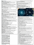 MGEB11H3 Lecture Notes - Formation And Evolution Of The Solar System, Lunar Eclipse, Small Solar System Body