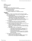 CAS PH 150 Chapter Notes - Chapter 2: Muzafer Sherif, Gunnar Myrdal, Social Distance