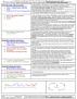 BCOR 1015 Midterm: Exam Cheat Sheet at CU Boulder