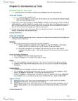 LAW 122 Lecture Notes - Rare Disease, Damages, Punitive Damages