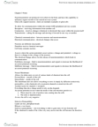 PSY220H5 Lecture Notes - Mitochondrion