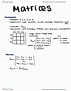 MATA35H3 Lecture 1: Introduction to Matrices