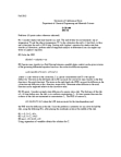 ECH 140 Lecture Notes - Lecture 5: Chemical Engineering