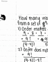MATH 2112 Lecture 7: MATH 2112 Lecture 7