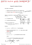 BIOL499A Chapter Notes - Chapter 28: Simple Random Sample, Analysis Of Variance, Grou