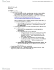 BIOL299 Lecture Notes - Anthocyanin, Wild Type, Cystic Fibrosis