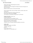 RELI 2110 Lecture Notes - Kiddush, Havdalah