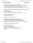 RELI 2110 Lecture Notes - Sephardic Law And Customs, Maimonides, Rashi