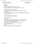 RELI 2110 Lecture Notes - Sephardi Jews, Lulav, Babylonian Captivity