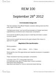 REM 100 Lecture Notes - Conspicuous Consumption, Resource Consumption, Consumerism