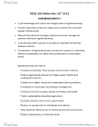 REM 100 Lecture Notes - Agricultural Biodiversity, Crop Diversity, Agrochemical