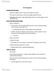 PSYC 1002 Study Guide - Prenatal Development, Preterm Birth, Primitive Reflexes