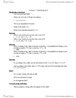PSYC 2002 Lecture Notes - Lecture 7: Central Limit Theorem, Sampling Distribution, Sample Size Determination