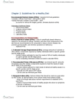 BPK 110 Chapter Notes - Chapter 2: Dietary Supplement, Corn Syrup, Refined Grains