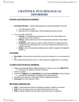 PSY 105 Study Guide - Asperger Syndrome, Abnormal Psychology, Mental Disorder