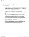 Sociology 3308F/G Chapter Notes -Symbolic Interactionism, Resource Mobilization, Social Comparison Theory