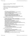Sociology 3308F/G Chapter Notes -Carl Tausig, Involuntary Unemployment, Job Satisfaction