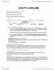 PSYC 3030 Lecture Notes - Lecture 4: Postganglionic Nerve Fibers, Parasympathomimetic Drug, Medial Septal Nucleus
