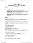 BIOL 2600 Chapter Notes -Aposematism, Kleptoparasitism, Allelopathy