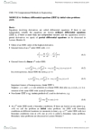CH E374 Lecture Notes - Euler Method, Partial Differential Equation, Midpoint Method