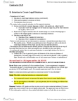 LAW410A Study Guide - Arraignment, Quid Pro Quo, Unconscionability