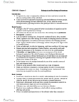 CRM 102 Chapter Notes - Chapter 3: Reductionism, Social Change, Offender Profiling